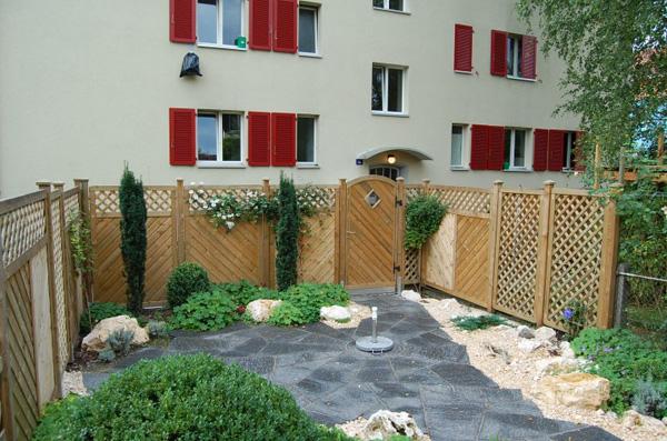 Teakholz Gartenmobel Outlet : Wind und Sichtschutz  individuelle Massanfertigung aus CHProduktion