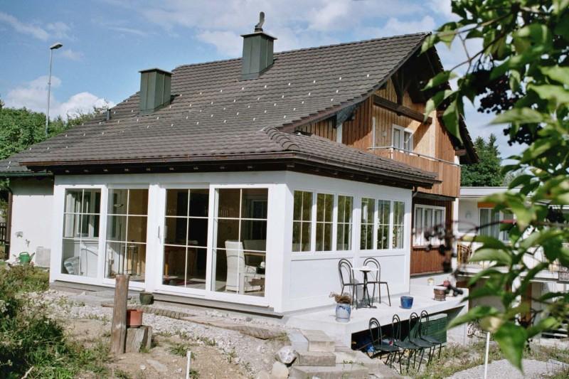 wintergarten bauen home design inspiration und interieur. Black Bedroom Furniture Sets. Home Design Ideas