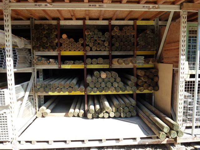 Palisaden und Pfähle zur Gartenabtrennung - Holzbauzenter Bonau