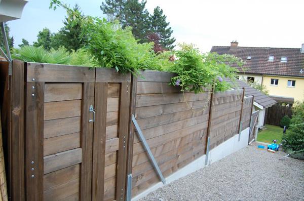 Sichtschutz aus Holz - für mehr Privatsphäre im Garten