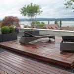 Terrassenboden Dach