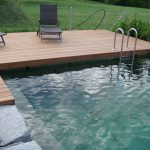 Terassenboden Pool